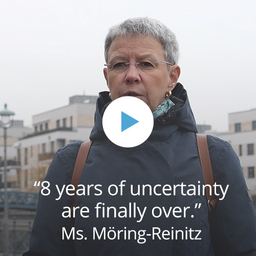 Ms. Moering-Reinitz' experience with CardioSecur.